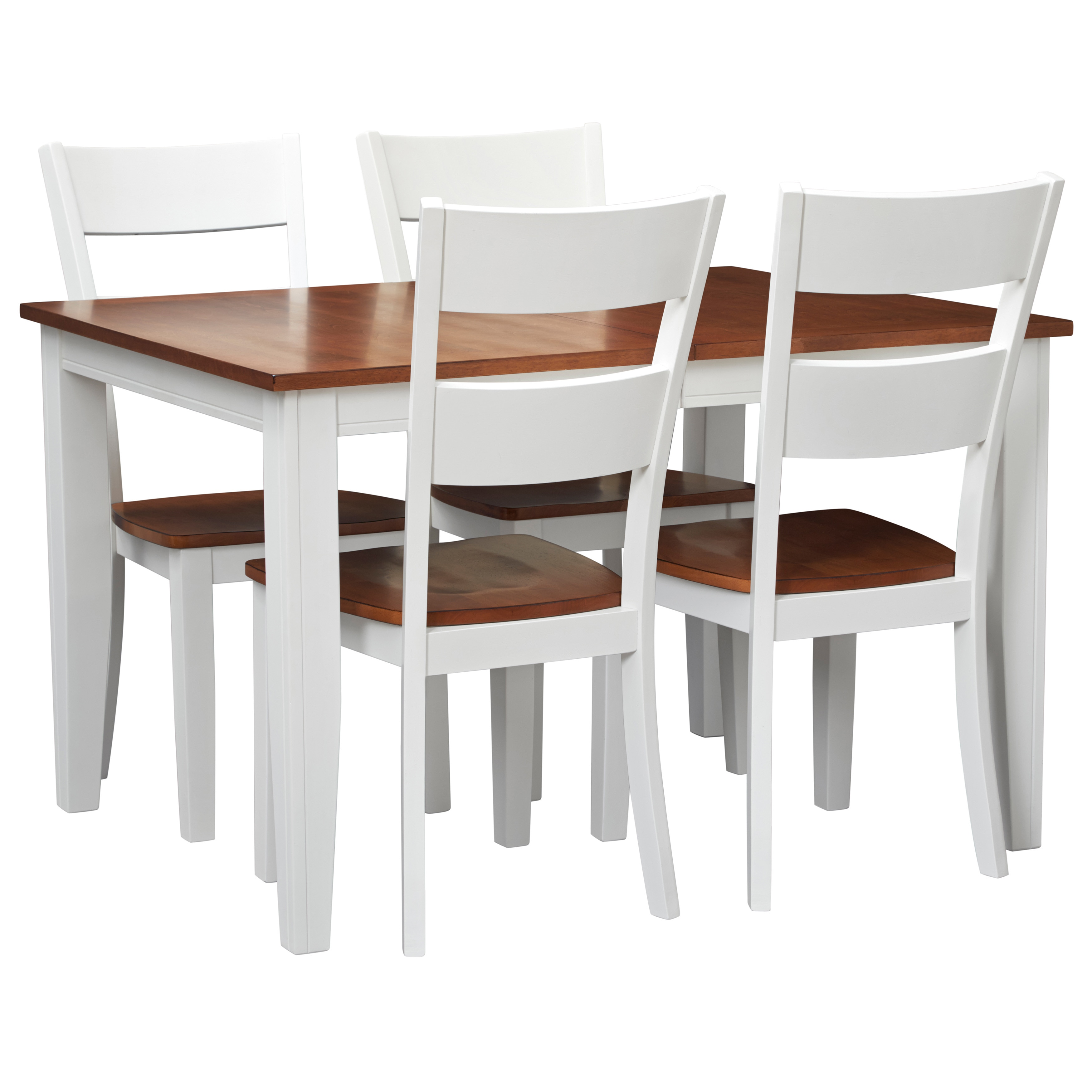 Art Van Choices Spice Finish 9-piece Dining Set