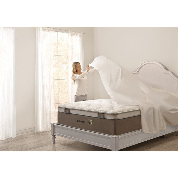 Shop Art Van Puresleep 600 Series Queen Size Mattress Set Free