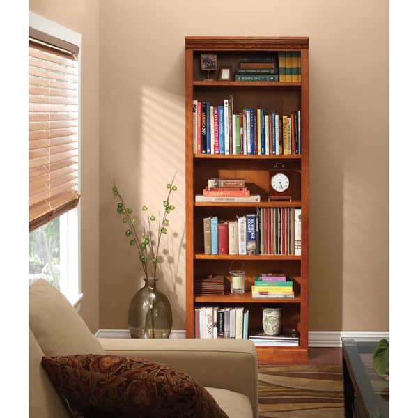 Shop Art Van 84 Inch Bookcase Overstock 9947785