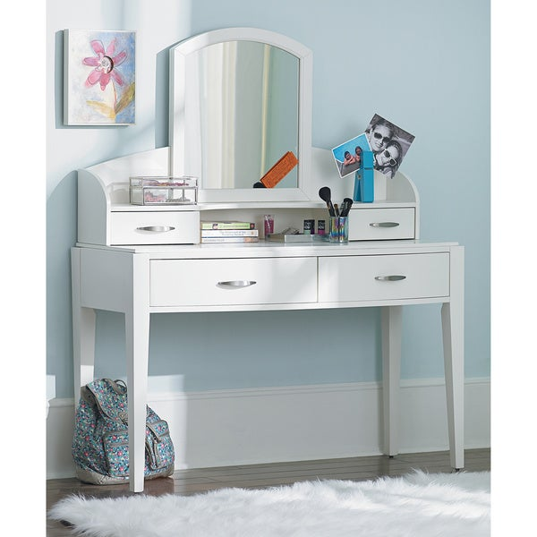Art Van Avalon Vanity Hutch With Mirror Free Shipping