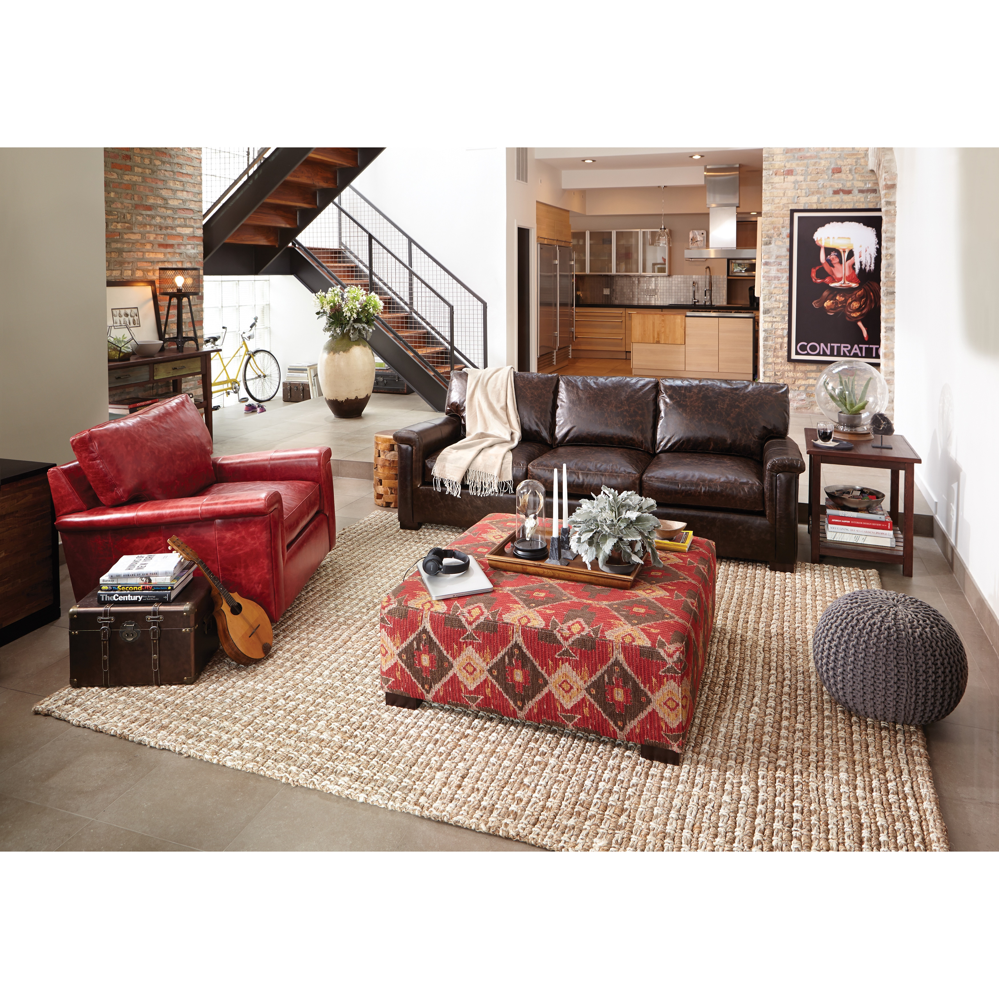 Art Van Foley 96-inch Sofa