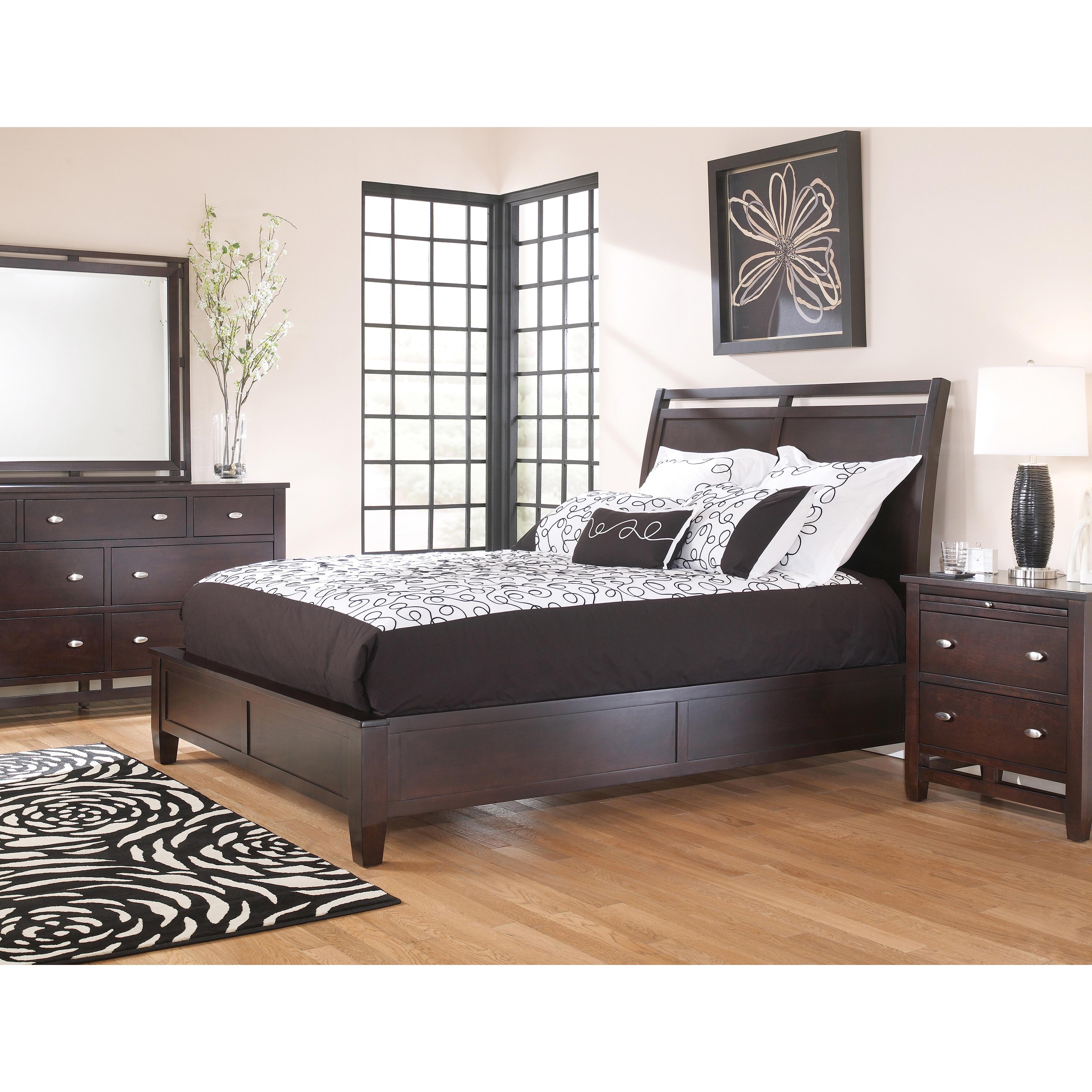 art van hudson 6 piece queen bedroom set