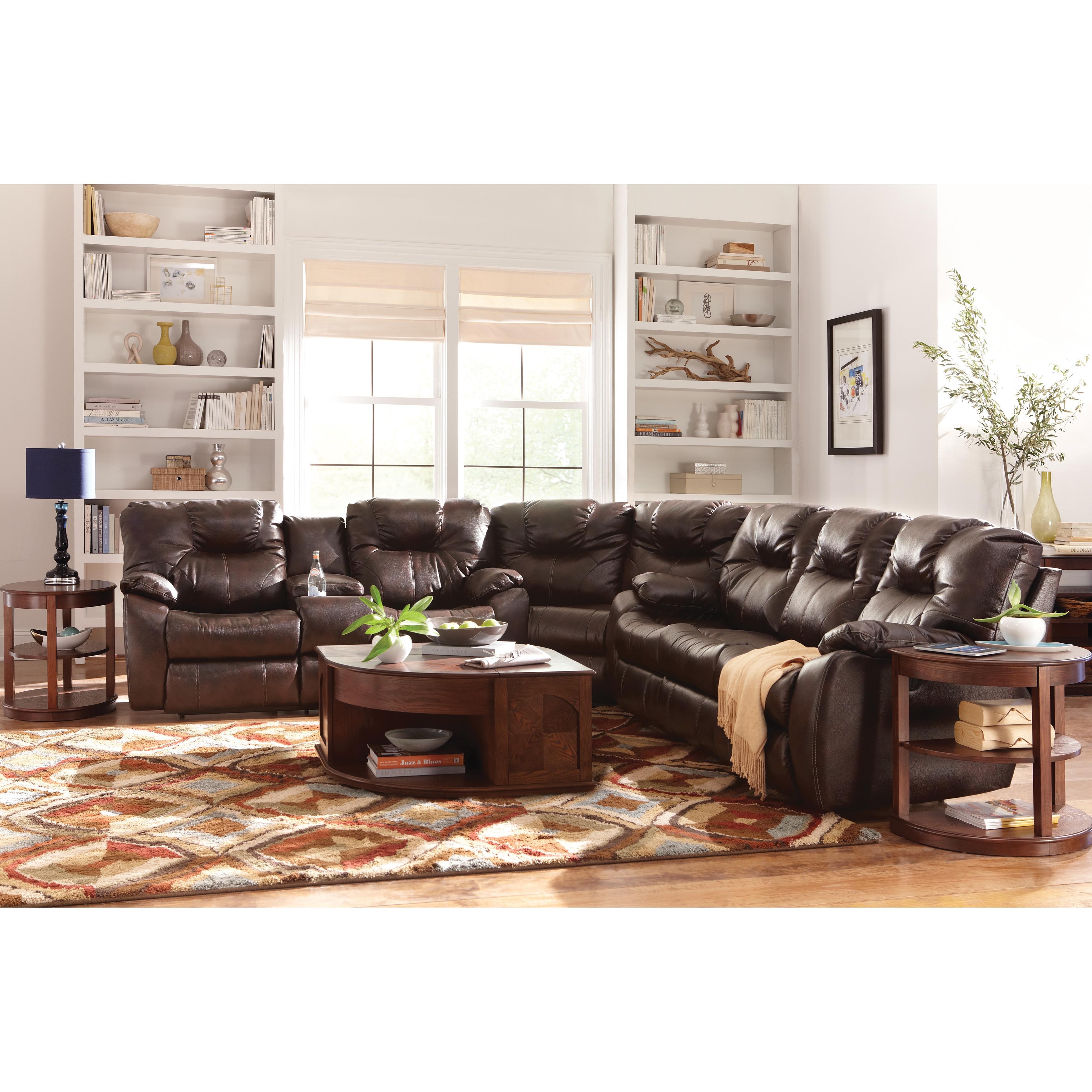 Shop Art Van 3 Piece Sectional With Power Sofa Overstock 9948718