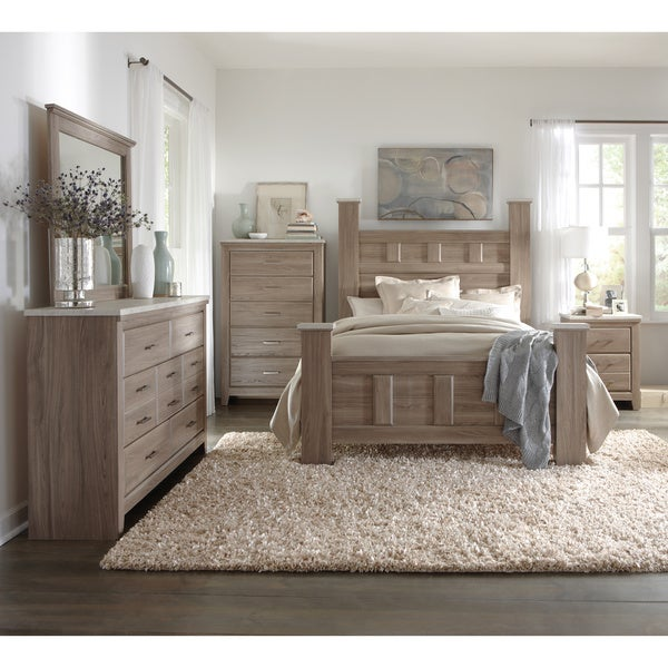 Shop Art Van 6-piece Queen Bedroom Set - Free Shipping Today ...