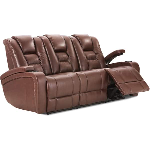 Swell Art Van Brown Power Reclining Sofa Uwap Interior Chair Design Uwaporg