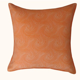Jiti Outdoor Swirl Orange 20-inch Pillow