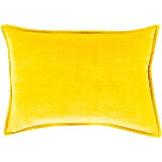 Hartford Cotton Rectangular Down or Polyester Filled Throw Pillow