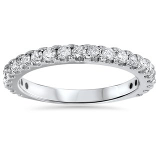 14k White Gold 1ct TDW Diamond Wedding Ring (I-J, I2-I3)