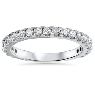 14k White Gold 1ct TDW Diamond Wedding Ring