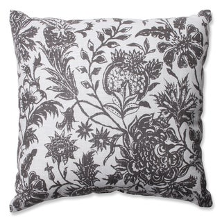 Pillow Perfect Ananya Charcoal Throw Pillow