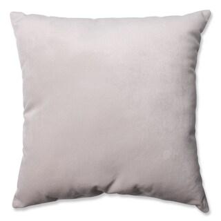 Pillow Perfect Belvedere Beach Knit Velvet Throw Pillow