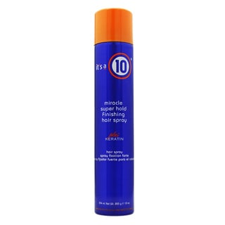 It's a 10 Miracle Super Hold Finishing 10-ounce Hair Spray Plus Keratin