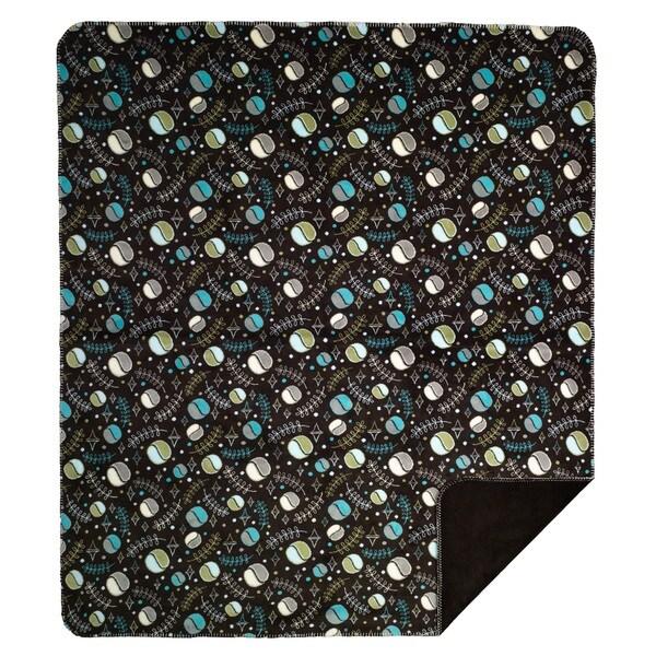 Denali Field of Dreams chocolate Micro-plush Throw Blanket