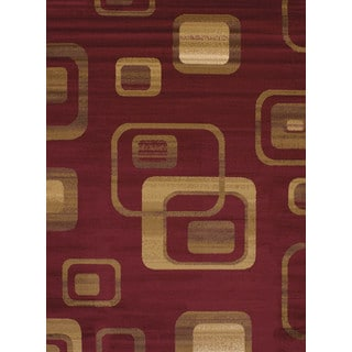 """Dominion Ruby Accent Rug (1'8"""" x 2'8"""")"""