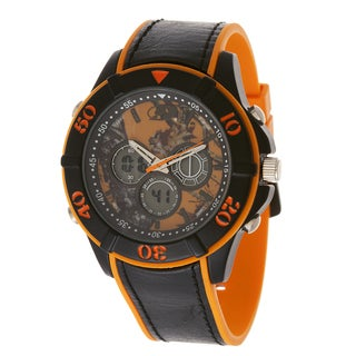 Mossy Oak Men's Blace Analog All-terrain Field Frontier Orange Watch