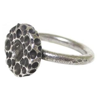 Bita Pourtavoosi Silver Glistening Suds Stackable Ring