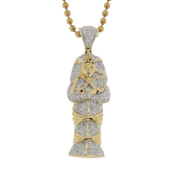 egyptian pendant leave review set cross of a ankh pyramid chain rc giza gold necklace