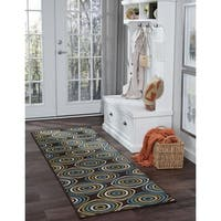 Alise Rugs Garden Town Transitional Geometric Runner Rug - 2'7 x 7'3