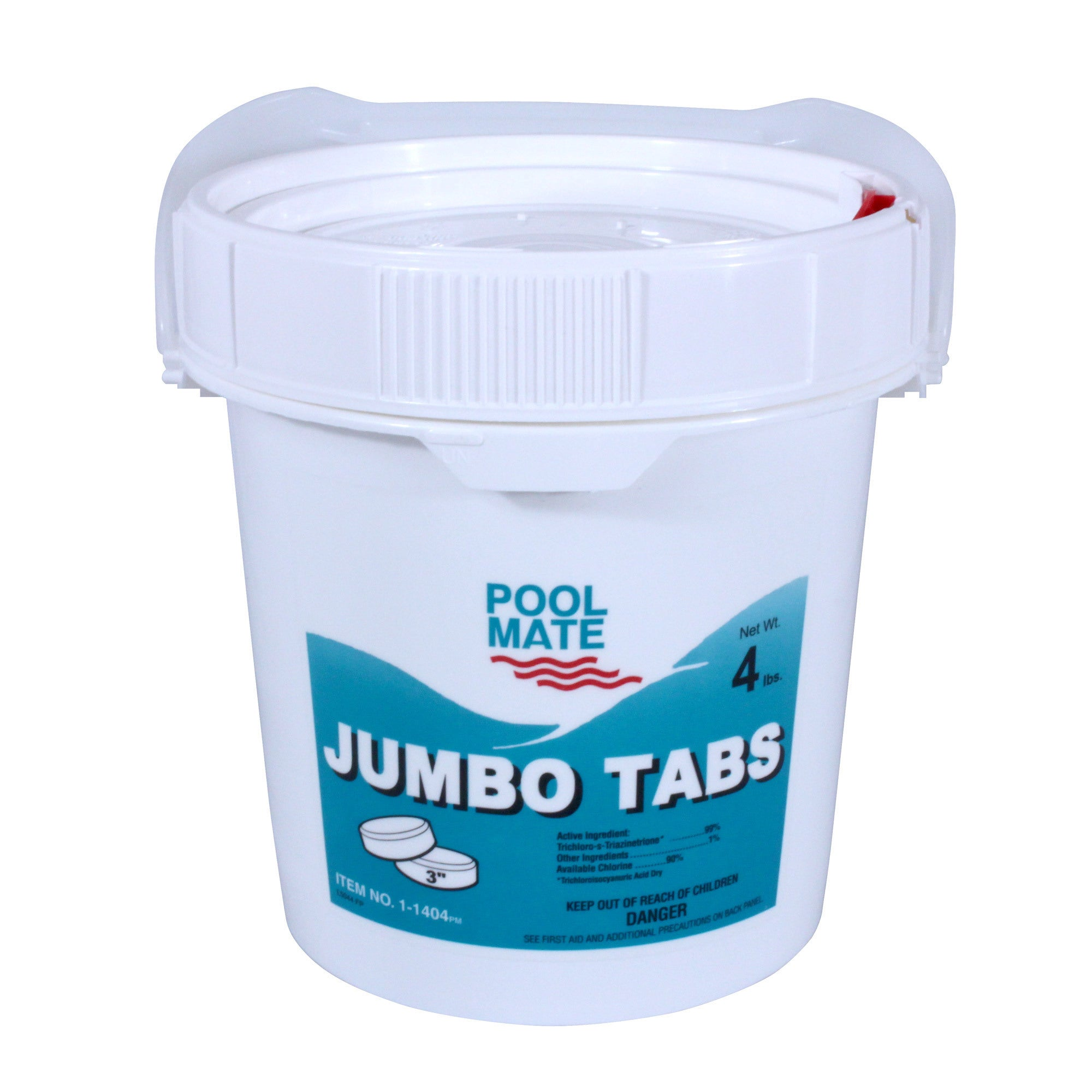 Pool Mate 3-inch Chlorine Tablets for Swimming Pools (4 l...