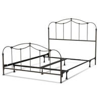 Laurel Creek Minnie Metal Bed with Spindled Panels and Detailed Castings