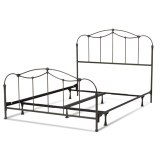Affinity Complete Metal Bed with Spindled Panels and Detailed Castings