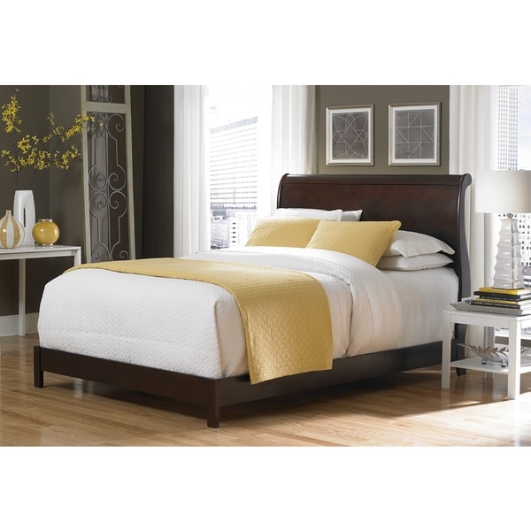 bridgeport sleigh bed by fashion bed group - Fashion Bedroom Furniture