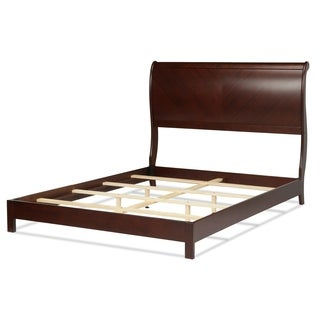 Bridgeport Platform Complete Bed with Curved Sleigh Headboard