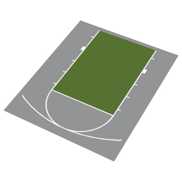 Duraplay Half Court Basketball Kit Free Shipping Today