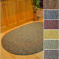 Rhody Rug Sophia Indoor/ Outdoor Braided Reversible Area Rug (8' x 11')