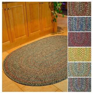 Rhody Rug Sophia Indoor/ Outdoor Braided Reversible Area Rug (2' x 4')