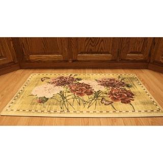 Somette Floral Premium Cushion Mat