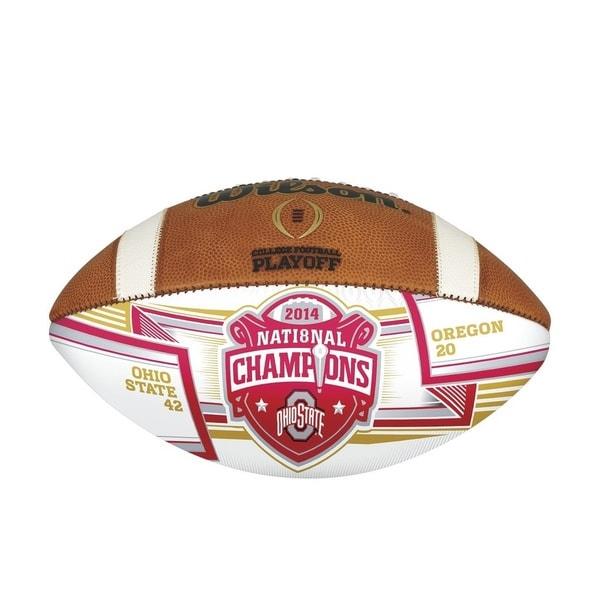 2014 College Football Playoffs Championship Autograph Ball