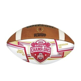 2014 College Football Playoffs Championship Autograph Ball