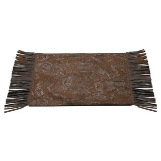 HiEnd Accents Tooled Faux Leather Placemat (Set of 4)