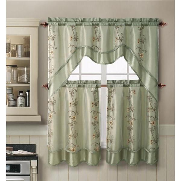 ... Set - 17106084 - Overstock.com Shopping - Great Deals on VCNY Curtains