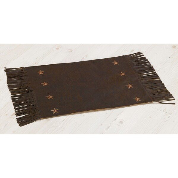HiEnd Accents Laredo Chocolate Placemat (Set of 4)