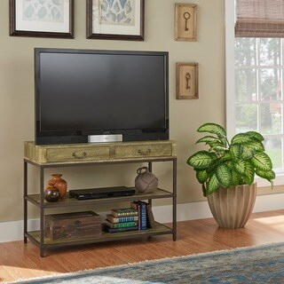 Sadie Industrial Rustic Media Console / Entryway table by iNSPIRE Q Classic