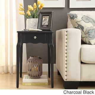 Daniella 1 Drawer Wood Storage Side Table By Inspire Q Bold