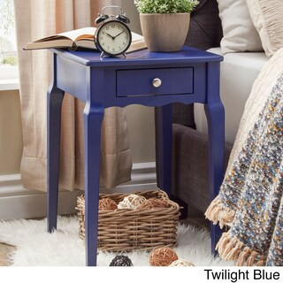Bold Accent Single-drawer Side Table (More options available)