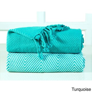 Soft 100-percent Cotton Hand Twisted Throw 50x60 (Set of 2) - 50 x 60