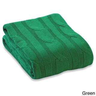 Very best Green, Cotton Throw Blankets For Less | Overstock JT76
