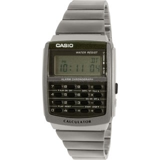 Casio Men's Core CA506-1 Black Metal Quartz Watch