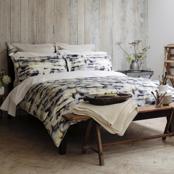 Shop Christy Of England Watercolour Bed Linen Duvet Cover Free