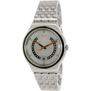 Swatch Men's Irony YWS405G Stainless Steel Swiss Quartz Watch