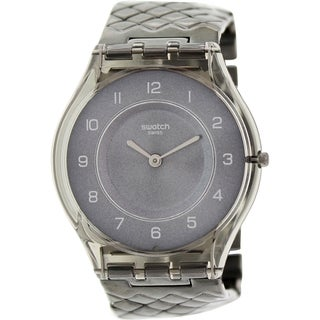 Swatch Women's Skin SFM132GB Silver Metal Swiss Quartz Watch