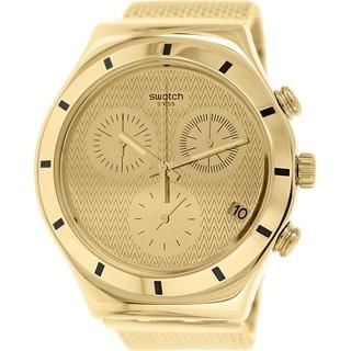 Swatch Women's Irony YCG410GB Goldtone Stainless Steel Swiss Quartz Watch