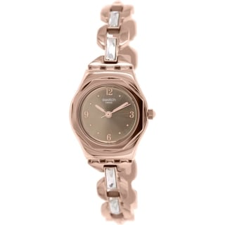 Swatch Women's Irony YSG136G Rose Goldtone Stainless Steel Swiss Quartz Watch