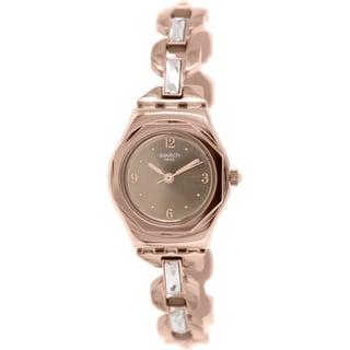 Swatch Women's Irony YSG136G Rose Goldtone Stainless Steel Swiss Quartz Watch