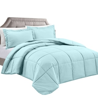 Clara Clark All-season Down Alternative 3-piece Comforter Set