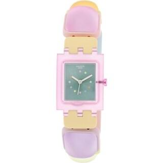 Swatch Women's Originals SUBP106B Multicolor Plastic Swiss Quartz Watch